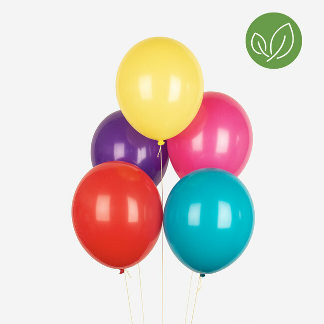 mix balloons - multicolor