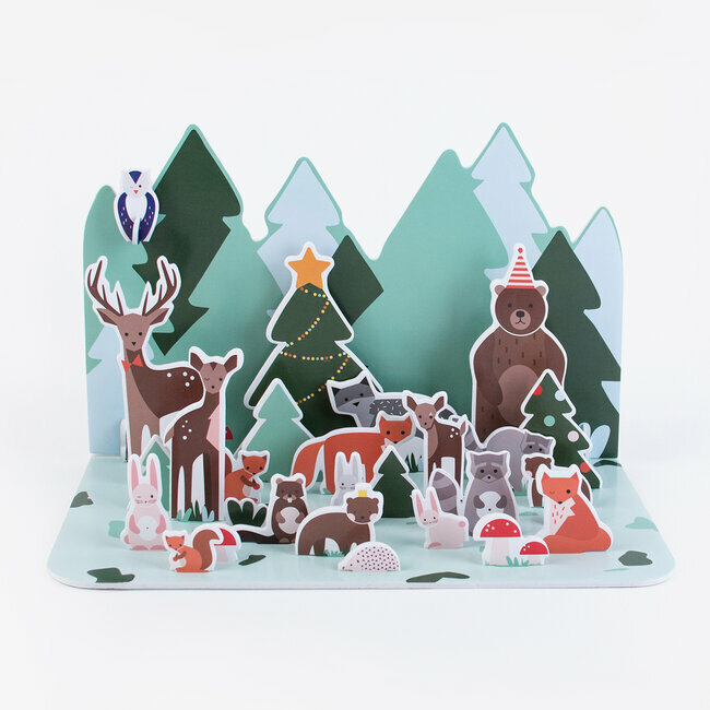 advent calendar - forest animals