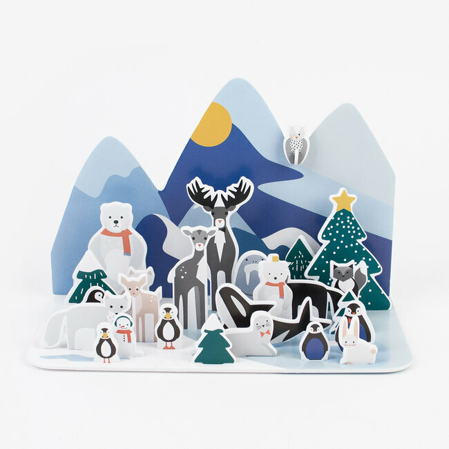 advent calendar - polar animals