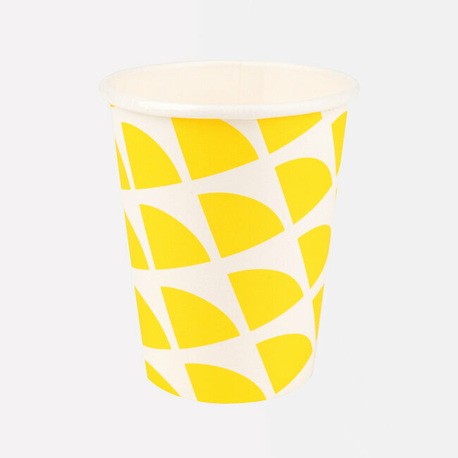 paper cups - lemon triangles